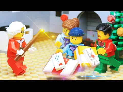 LEGO Christmas Mr  & Mrs  (Santa) Claus