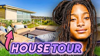 Willow Smith | House Tour | Her New Malibu Mansion