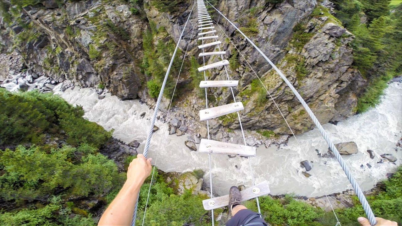 Klettersteig Zirbenwald : Obergurgler zirbenwald klettersteig Ötztal tirol gopro youtube