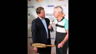 McEnroe with Brett Haber PowerShares Series