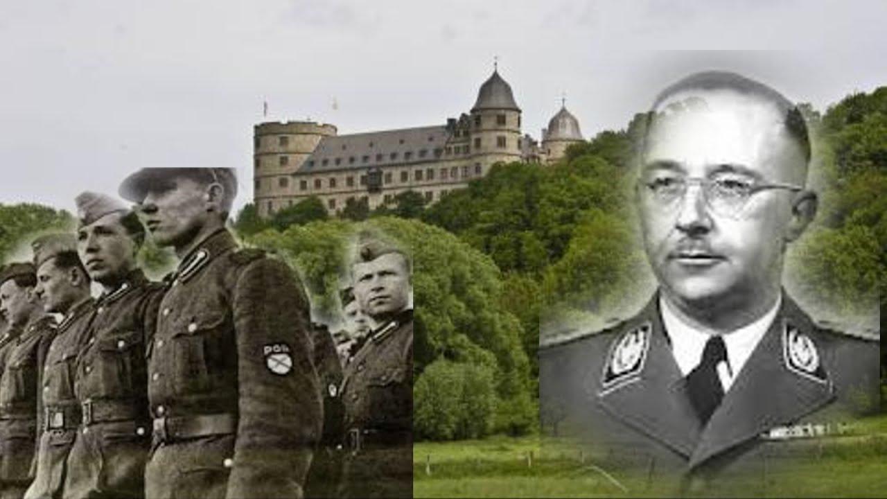 Германия. Замок Вевельсбург.  Туризм. Отдых. Путешествия.