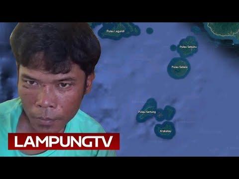 5 Hari  5 Malam Terdampar di Pulau Sertung, Krakatau
