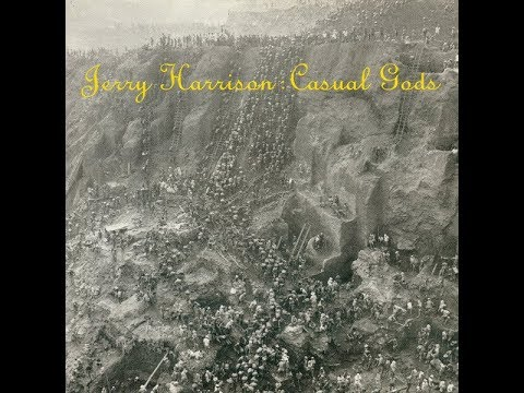 Jerry Harrison - Man With A Gun [featuring Chris Spedding]