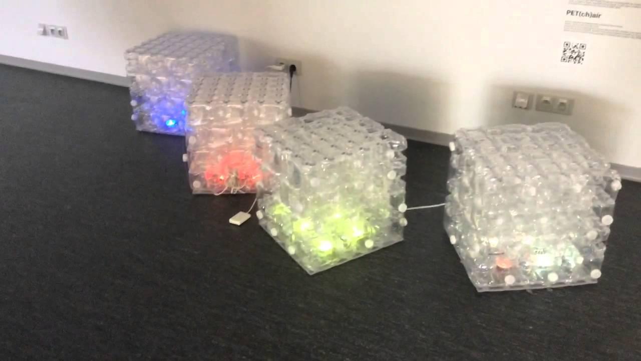 Poltrona Bottiglie Di Plastica.Nella Repubblica Ceca Il Riposo E Sostenibile Youtube