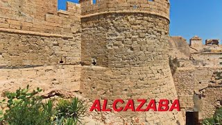 Alcazaba citadel -  Almeria - Spain(Alcazaba citadel Almeria Spain, Andalusia Крепость Алькасаба и крепостные стены на холме святого Христофора главная досто..., 2015-08-12T18:07:24.000Z)