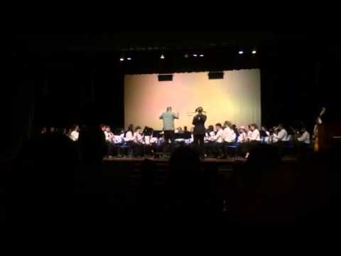 Hilo High School Band end of year concert