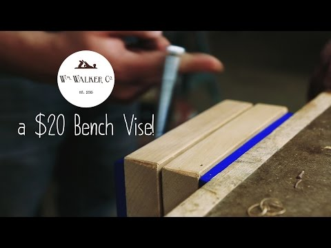 A Cheap Bench Vise