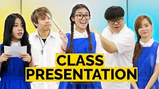 17 Types of Students in a Class Presentation