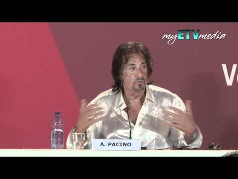 Al Pacino on Wilde Salome @ Venice Film Festival