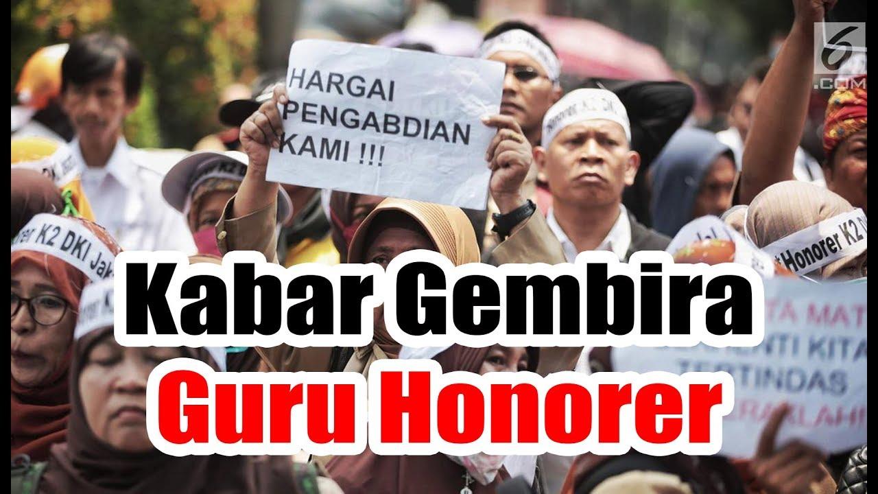 Kabar Gembira Guru Honorer, Pemerintah Resmi Terbitkan PPPK ...