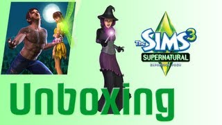 Sims 3 Supernatural Unboxing and Install