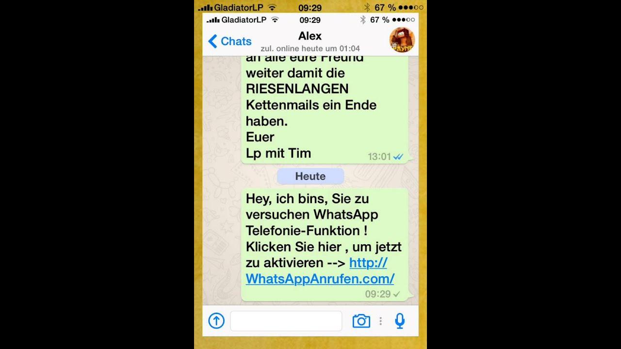Wie bekommt man die anruf Funktion bei WhatsApp? - YouTube