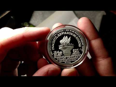 Norfed Donald Trump Inauguration Silver Round First Day Of Issue
