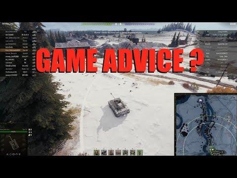 WOT - Actual Game Advice? | #WorldofTanks