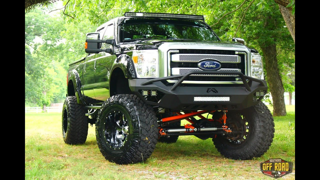 Ford F250 12 Quot Bulletproof Lift On 40s Sorbuilt Youtube