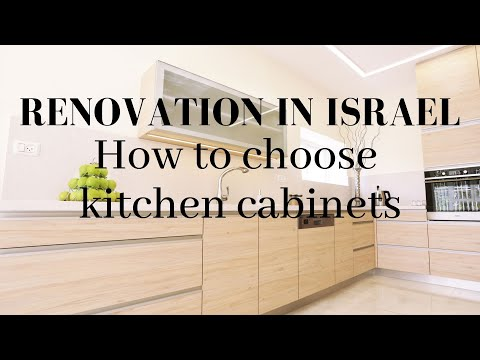 How to choose your kitchen cabinets in Israel