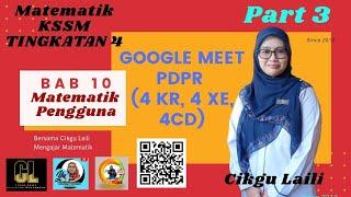 #Googlemeet #Matematik #Tingkatan4 #Bab10 #MatematikPengguna
