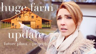 HUGE FARM UPDATE! Exciting things are happening!
