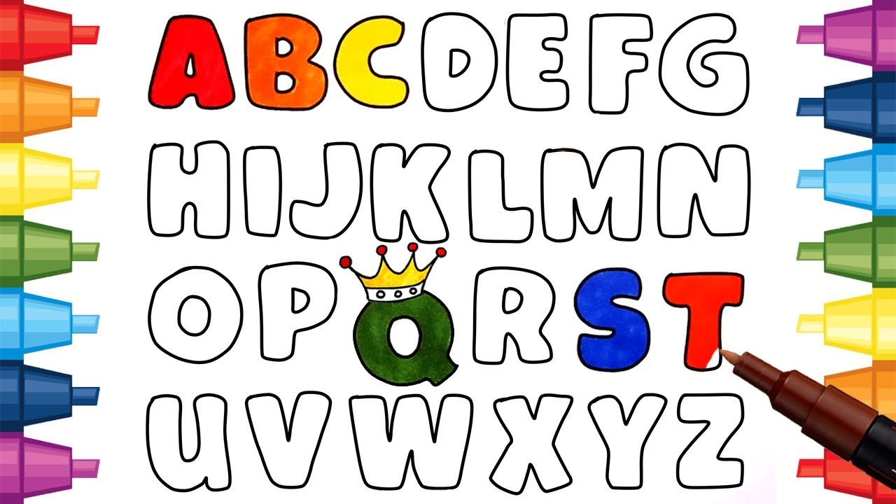 Coloring And Alphabet Pages For Kids Children