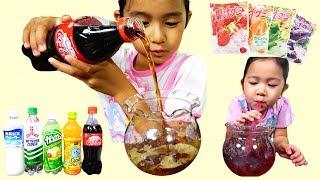 子供と楽しく手作りおやつ☆グミでゼリー飲料を作る♡himawari-CH thumbnail