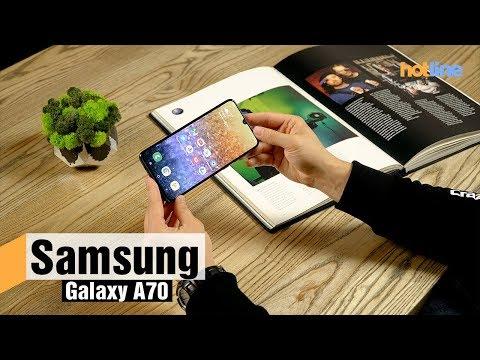 Samsung Galaxy A70 — обзор смартфона