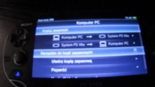 Dziennik PSVita part 4 - Połączenie z PC