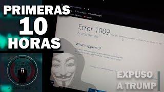TODO LO QUE EXPUSO ANONYMOUS  DESDE SU REGRESO LAS PRIMERAS 10 HORAS - 2020