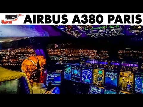 Fantastic Cockpit Views AIRBUS A380 Takeoff | 8 Cameras