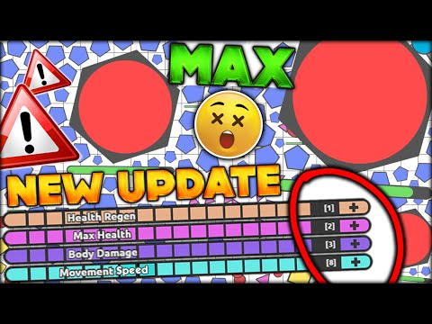 THE BEST NEW UPDATE!! NEW MAX STATS & UPDATE MID-GAME - SMASHER DIEP.IO FUNNY MOMENTS (DIEPIO #23)