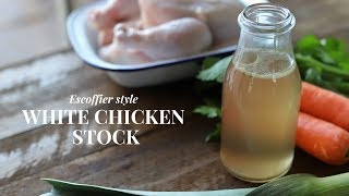 Chicken stock recipe for home (simple and tasty)