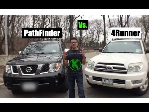 nissan pathfinder vs toyota 4runner mudding doovi. Black Bedroom Furniture Sets. Home Design Ideas