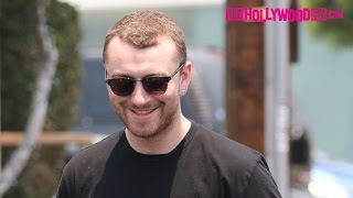 Sam Smith Has Lunch At Fred Segal & Reveals He Has No Plans Of Making Any New Music 6.17.16