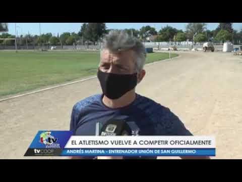 """Retorna la competencia del atletismo y San Guillermo será epicentro del torneo """"Regreso 2020"""""""