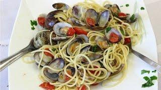 Spaghetti Alle Vongole In Sorrento -  Rossella Rago -  Cooking With Nonna