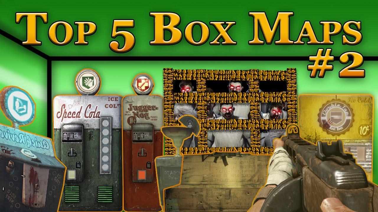 TOP 5 BOX MAPS #2 ☆ Custom Zombies (CoD WaW) - YouTube