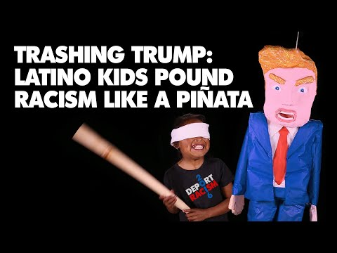 Trashing Trump: Latino