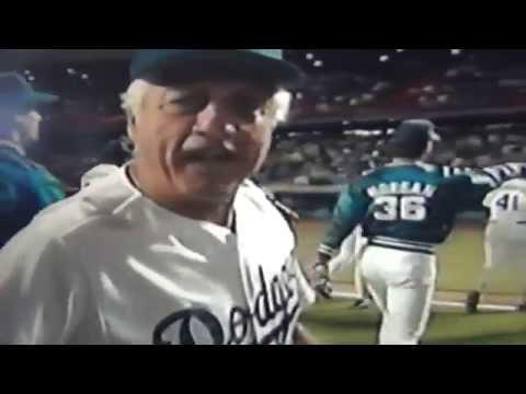 Tommy Lasorda Gets Great Birthday Gift 1990