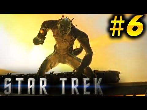 Star Trek 2013 Walkthrough Part 6 - HUGE Gorn Battle!