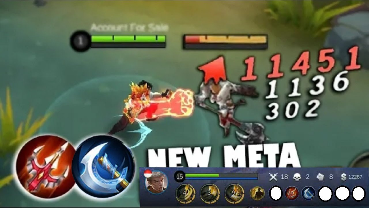 NEW META & BUILD THE BEST PLAYER CHOU MOBILE LEGEND IN THE WORLD
