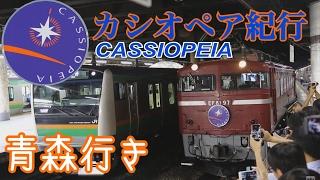 【EF81-97牽引】臨時『カシオペア紀行』 青森行き  上野駅発車