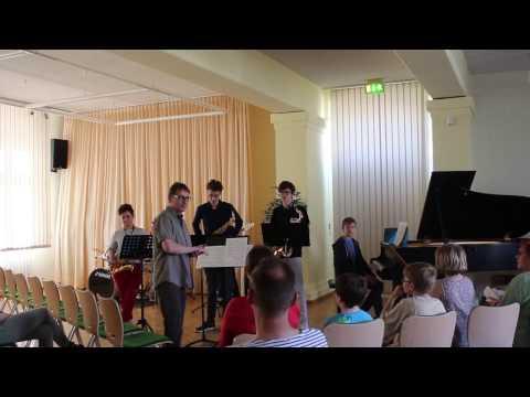Tag der offenen Tür - Musikschule Fürstenwalde/Spree - Auftritt - Jos Kleine Bigband