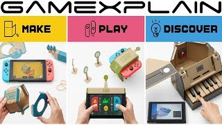 Nintendo Labo Pricing & Package Details Revealed