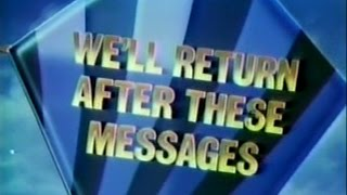 CBS 1985-1986 Saturday morning cartoon bumpers (all 4)