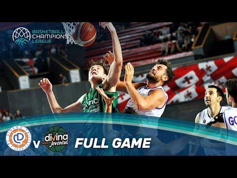 Dinamo Tbilisi (GEO) v Divina Seguros Joventut (ESP) - Full Game - Basketball Champions League 17-18