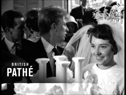 Tommy Steele Weds - Reception At Savoy Hotel (1960)