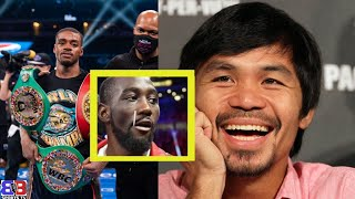 "(WOW) ERROL SPENCE NOW MANNY PACQUIAO MAIN FOCUS AFTER CRAWFORD REFUSED FIGHT ! ""WE WANT SPENCE JULY"