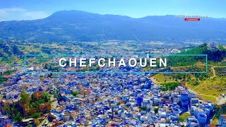 Chefchaouen - Morocco IN 4K | مدينة شفشاون من الأعلى