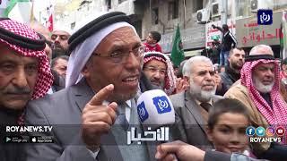 مسيرة شعبية في وسط البلد نصرة للقدس وغزة (29-3-2019)