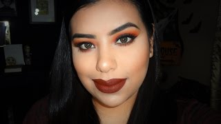 Fall Leaves Inpsipred Makeup Tutorial