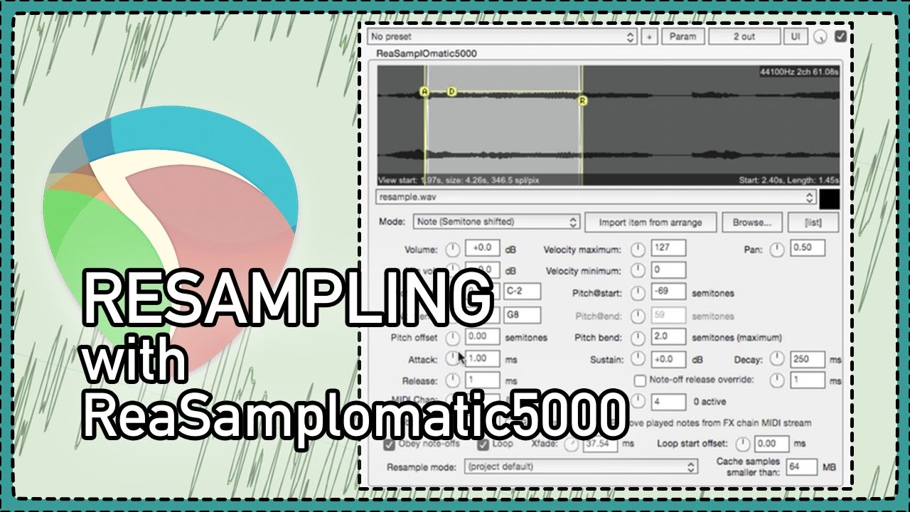 ReSampling With ReaSamploMatic5000 - What is resampling - How to